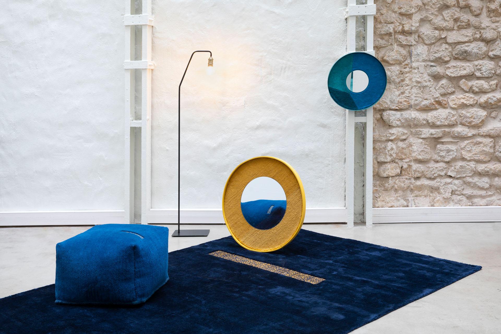 collection tapis upcyclé pour MADE.COM
