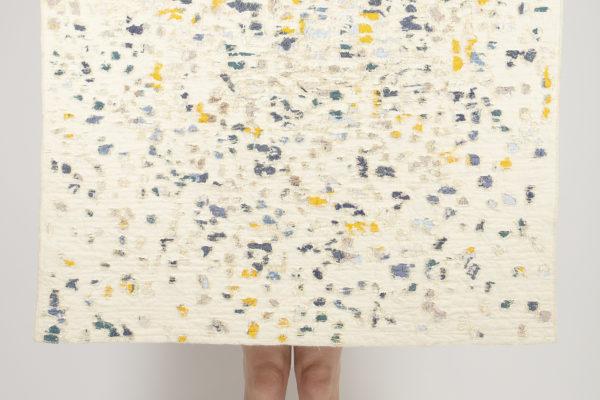 Les Rescapés, collection de tapis et tentures réalisées à partir de textile réemployé